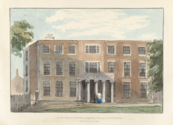 The Residence of E. C. Barnard Esq. M.P. for the Borough of Greenwich